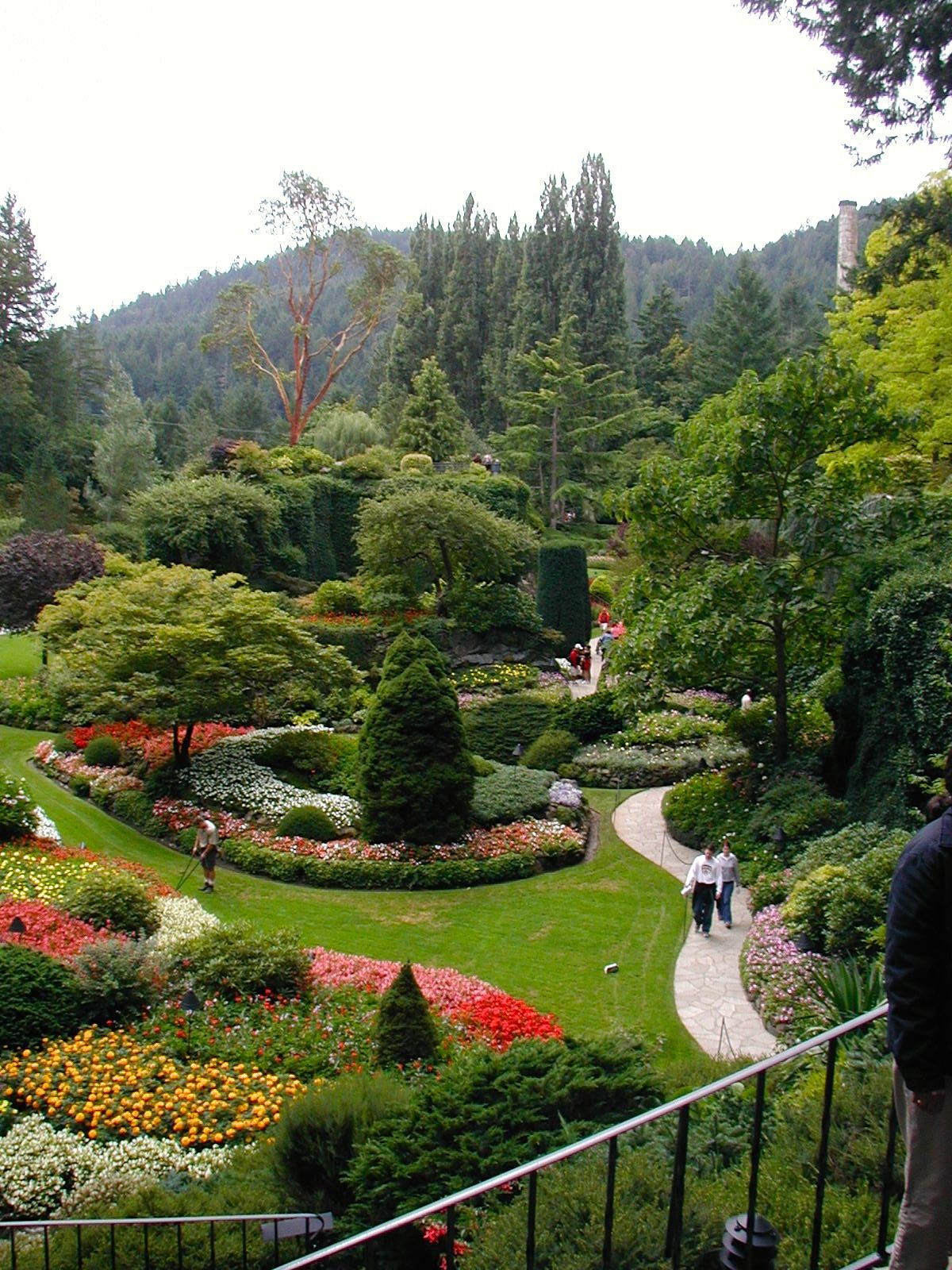 Photos Of Butchart Gardens Vancouver B C Photomania